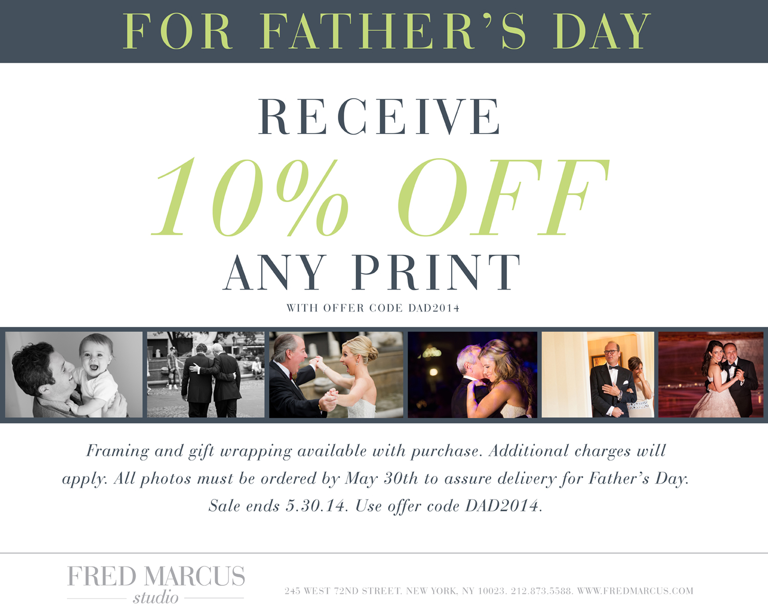 For our Dads…