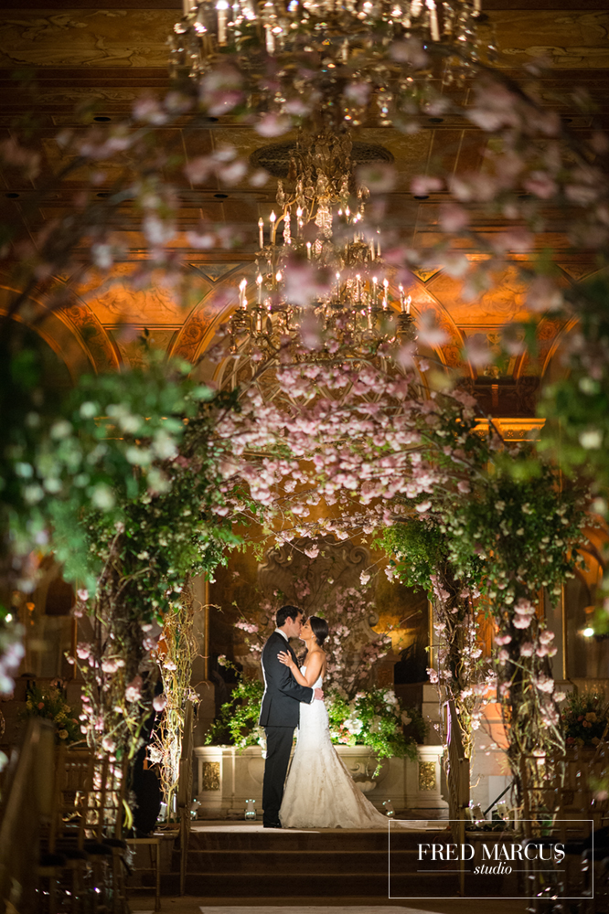 Photo of the Week: Kira & Larence, The Plaza Hotel