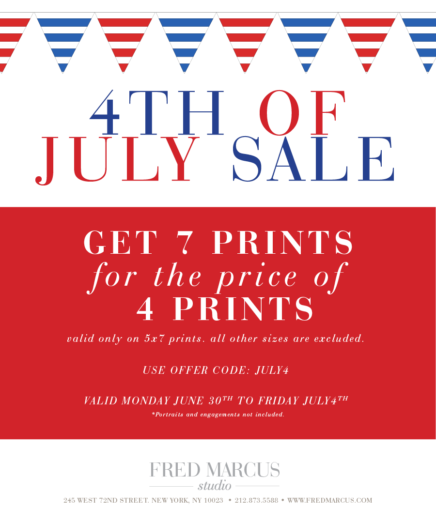July 4th Sale!
