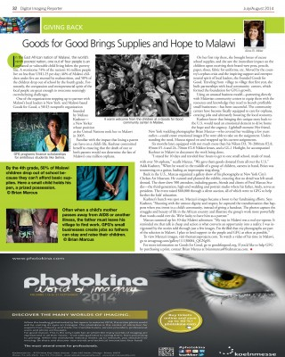 Goods for Goods Brings Supplies and Hope to Malawi