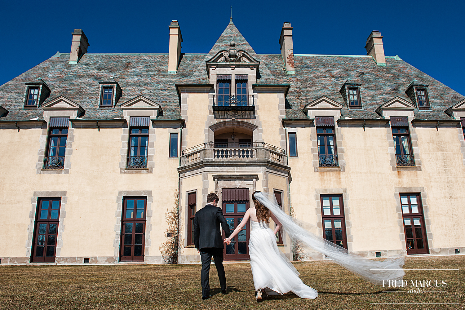 Wedding Wednesday: Brad & Arielle, Oheka Castle