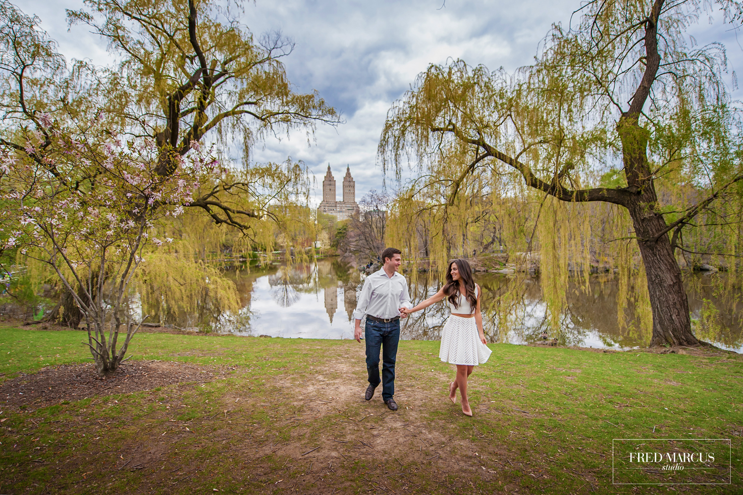 Photograph of the week: Allison and Michael in Central Park